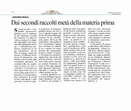 Agrisole 28 04 Doppi Raccolti 2