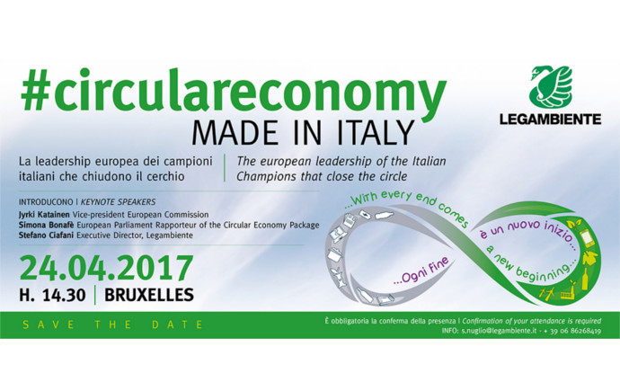 #circulareconomy MADE IN ITALY