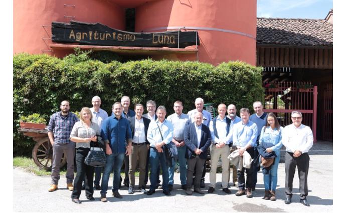 Le Cooperative Agro-industriali Del Paraná In Visita In Italia