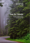 Pubblicato Studio Ecofys – Gas For Climate: How Gas Can Help To Achieve The Paris Agreement Target In An Affordable Way