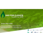 Gas For Climate: Online The Action Plan 2030