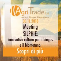 MEETING SILPHIE! Innovativa Coltura Per Il Biogas E Il Biometano