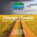 Biogas Italy 2019 – Change Climate | Presentation Are Availble