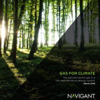 Navigant Gas For Climate The Optimal Role For Gas In A Net Zero Emissions Energy System 2019