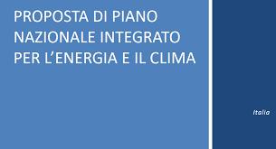 Piano Nazionale Integrato Clima Energia: Osservazioni Del CIB