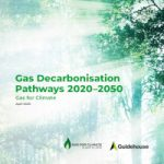 New Report By Gas For Climate: Gas Decarbonisation Pathways 2020-2050.