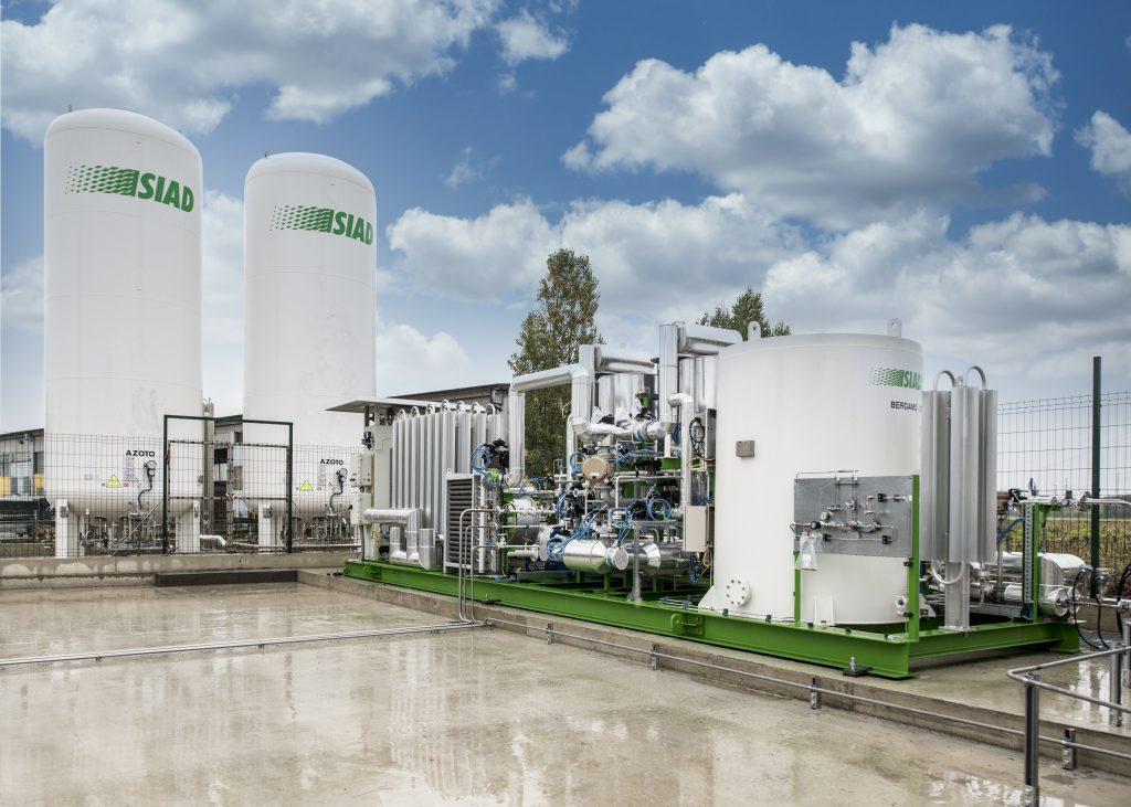 Liquefazione del biometano e storage dell'azoto presso l'azienda di Lodi